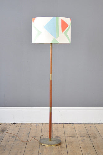 Handsome Danish Floor Lamp