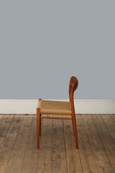 Niels O. Møller Model 75 Chair