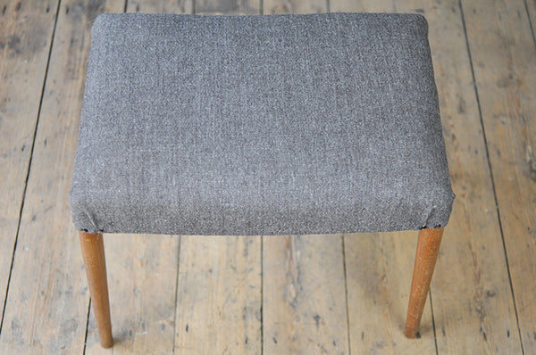 Grey Footstool - Forest London