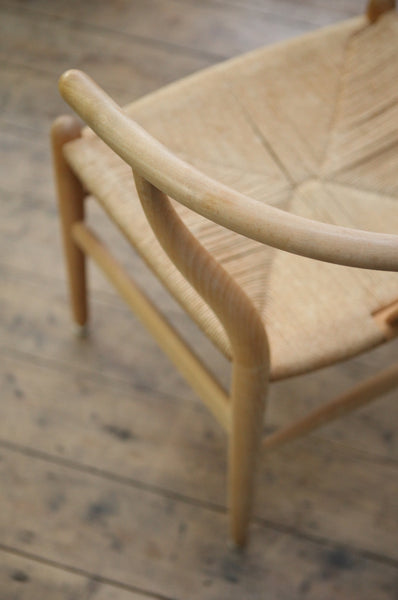 Set of Six Wishbone Chairs by Hans Wegner - Forest London