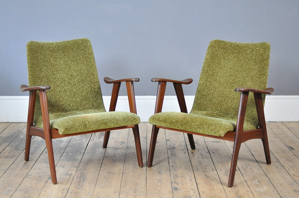 Charming Pair of Dutch Armchairs