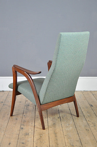 Elegant High Back Armchair