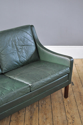 Danish Two Seater Sofa