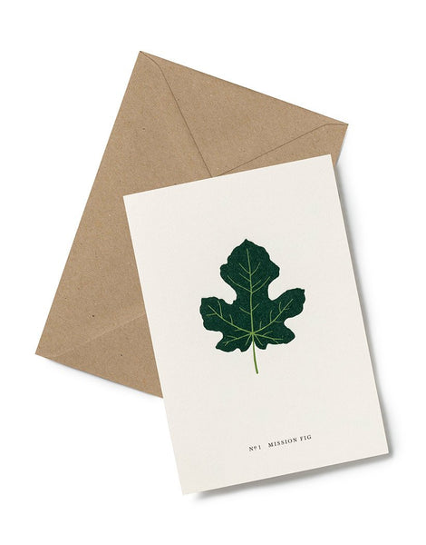 Greeting Card - Mission Fig