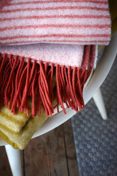 Tamasyn Gambell Pythagorean Blanket in Blush - Forest London