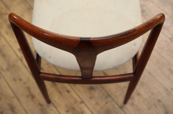 Set of 8 Rosewood Juliane Dining Chairs by Johannes Andersen