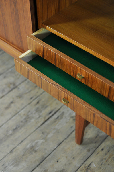 Teak Sideboard with Drinks Cabinet