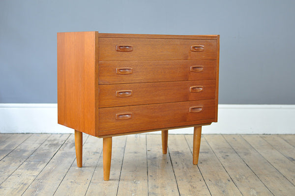 Quirky Low Chest Of Drawers