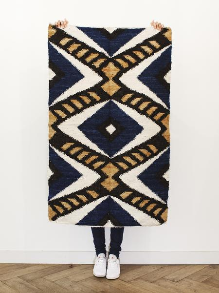 Handmade Wool Rug by Que Onda Vos