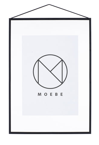 A2 Black Metal Frame by Moebe - Forest London