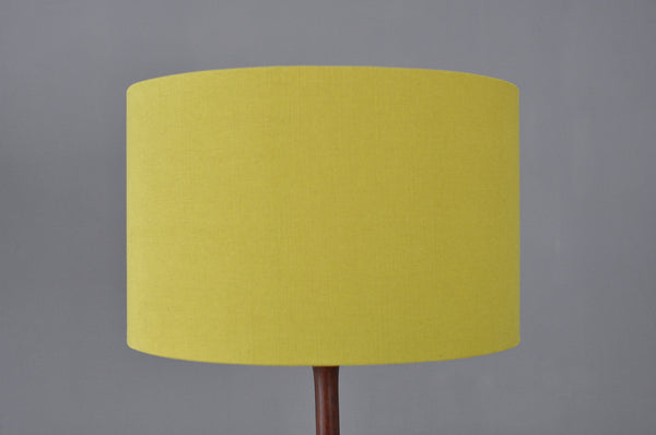 Mustard Wide Lampshade - Forest London
