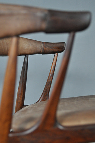 Rosewood Occasional Chair
