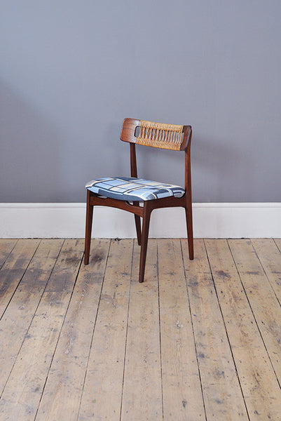 Daniel Clarke 'Block' Rattan Chair - Forest London