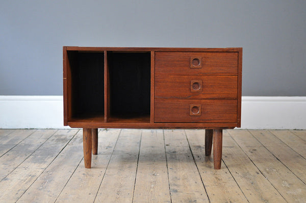 Quirky Record Cabinet