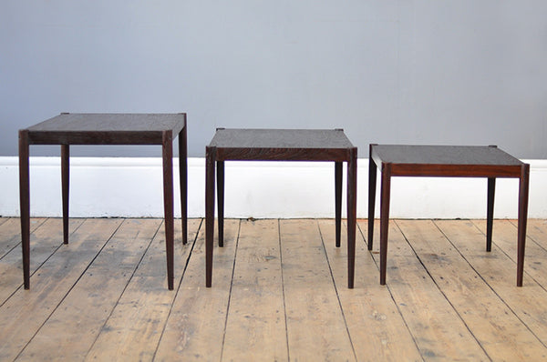 Striking Wenge Nesting Tables