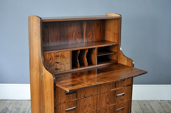 Rosewood Writing Desk - Forest London