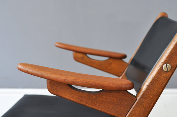 Danish Scissor Chair