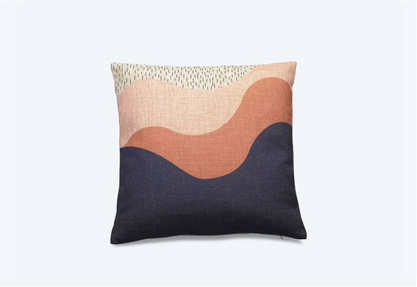 FEST Amsterdam Lov Blue Cushion