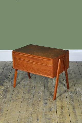 Teak Sewing Chest