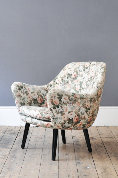 Dutch Curved Occasional Armchair