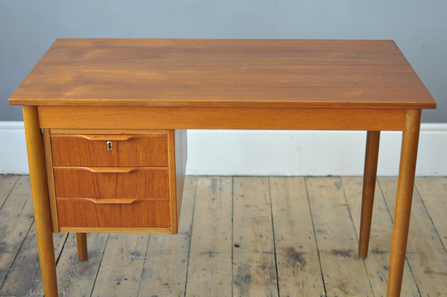inset at top with teak furniture storage w micarta id sale danish desks pieces z case for fnt f desk