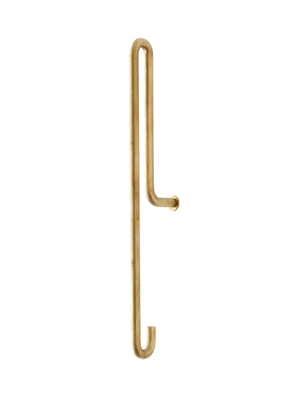 ON SALE // Large Brass Hook by Moebe - Forest London