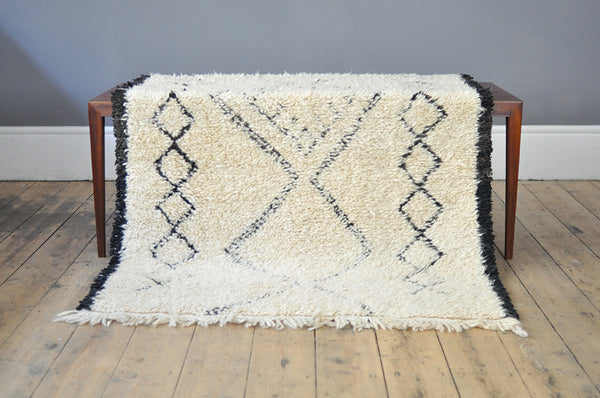Geometric Moroccan Rug - Forest London