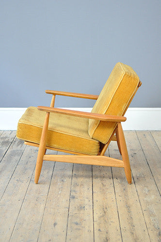 Danish Beech Armchairs