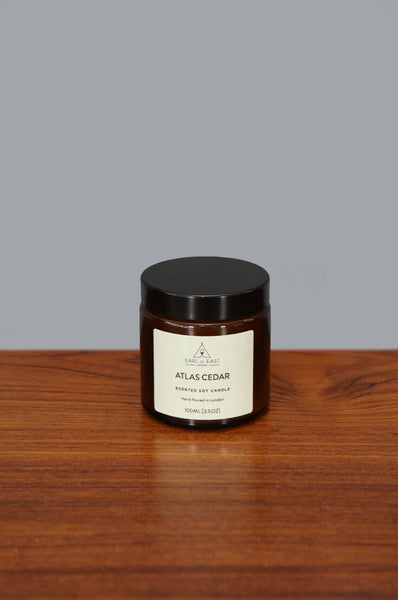 Small Atlas Cedar Candle by Earl of East