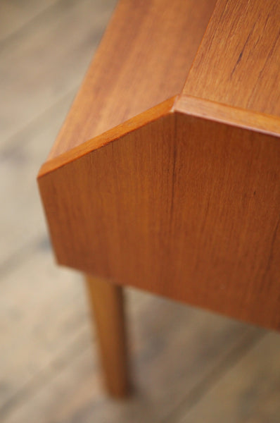 ON SALE // Pair of Teak Bedside Tables