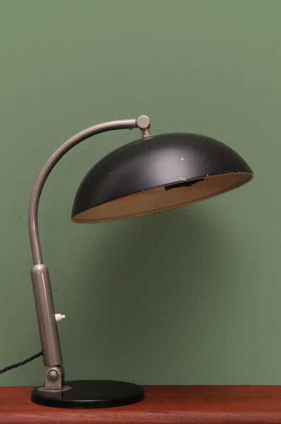 Black Dome Desk Lamp - Forest London