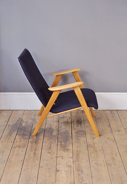 Beech Low Back Armchair