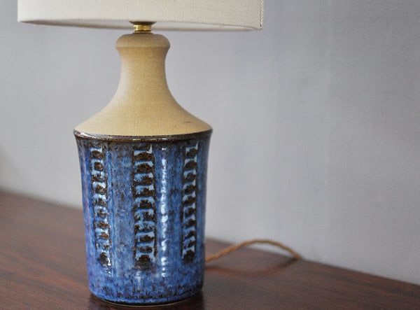 Ceramic Midcentury Lamp by Stentoj