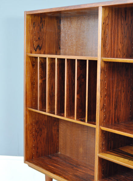 Unique Rosewood Bookcase