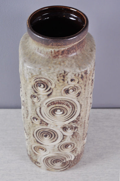 Interesting West German Vase