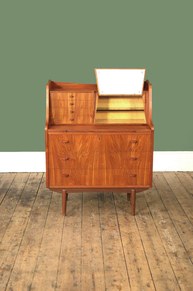 Danish Teak Secretaire by Storgaard Nielsens - Forest London