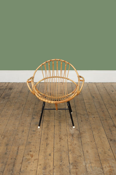 ON SALE // Decorative Rattan Circle Chair - Forest London