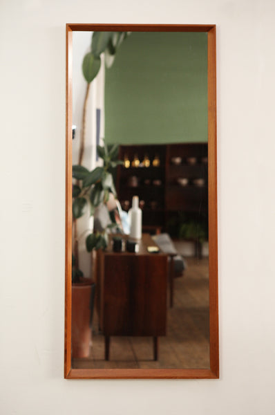 Large Rectangular Danish Mirror