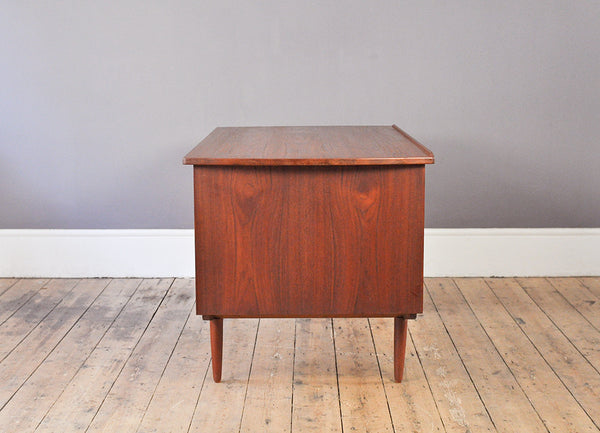 Handsome Danish Teak Desk