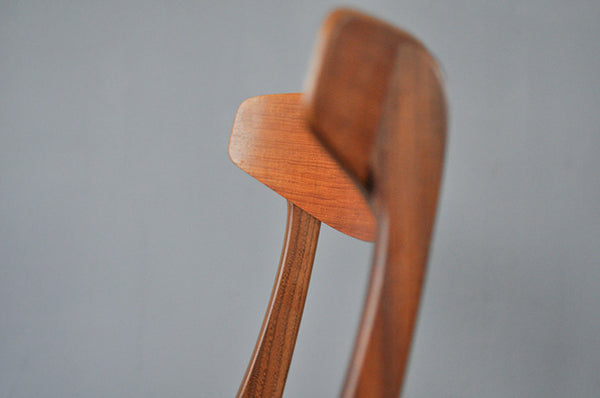 Sculptural Set of Six Dining Chairs