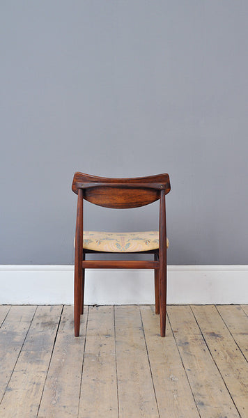 1960's Dutch Rosewood Dining Chairs