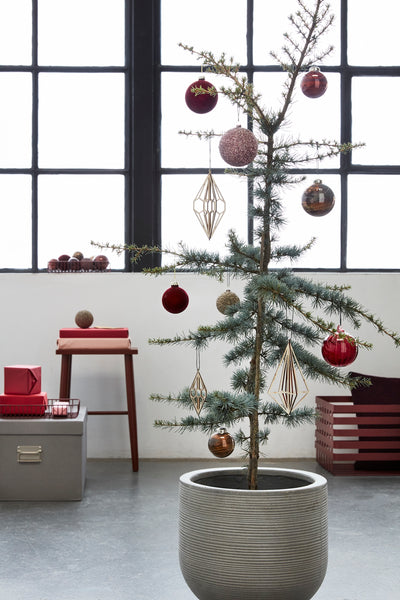 Round and Round Halves Hanging Ornaments by Hübsch