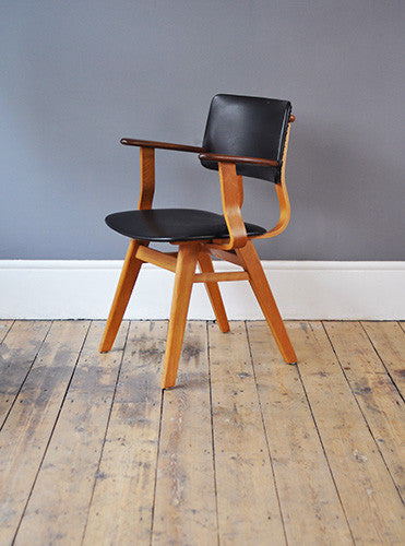 SOLD Unique Plywood Chair