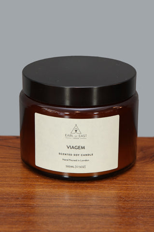 Large Viagem Candle by Earl of East - Forest London
