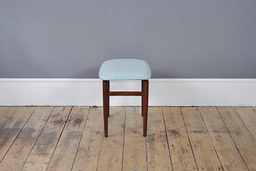 Newly Upholstered Footstool - Forest London