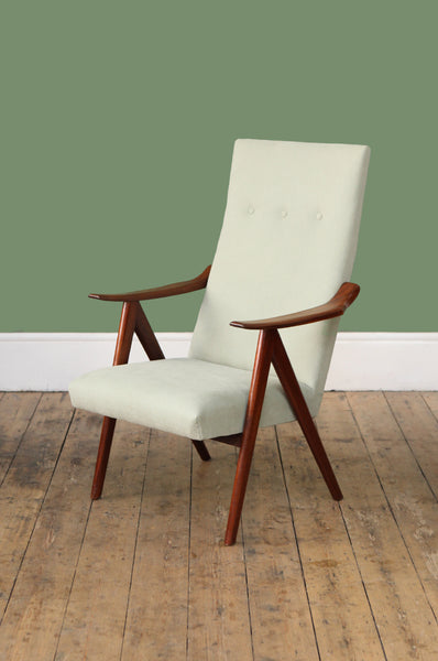 High Back Teak Armchair