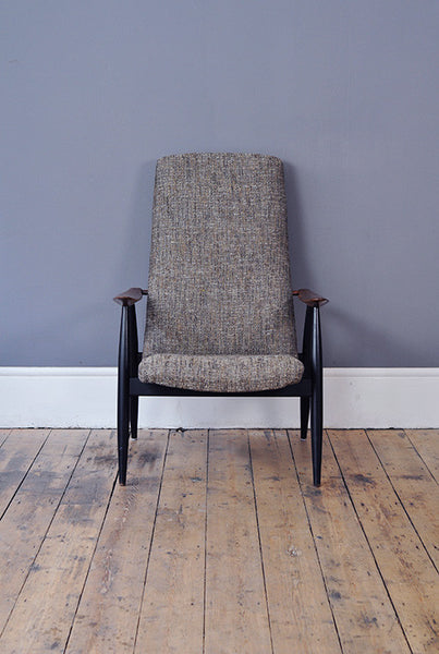 Scandinavian High Back Chair - Forest London