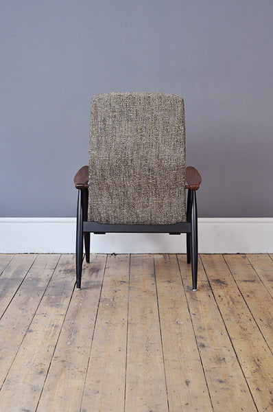 Scandinavian High Back Chair