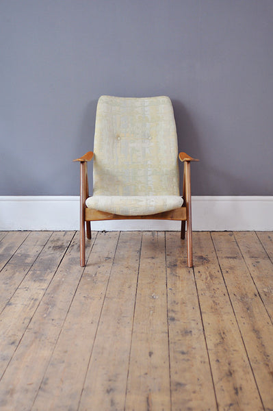 Dutch High Back Armchair, Part of a Set