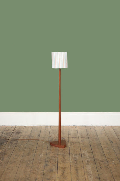 Sweet Teak Danish Floor Lamp - Forest London